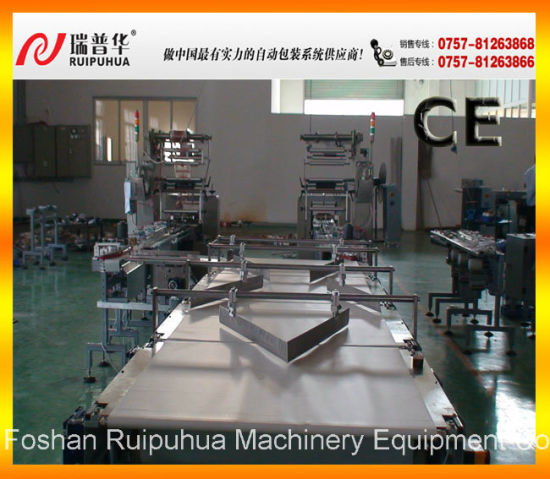 Layer Cake Automatic Feeding and Packaging Machine System pictures & photos