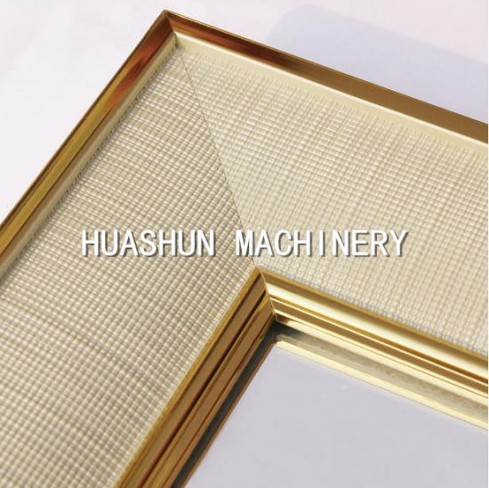 China PS Mouldings Making Machine/Frame Profile Equipment - China ...