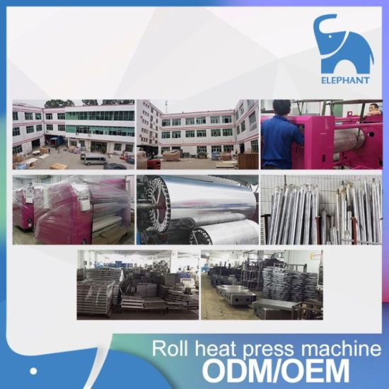 Factory Supply Poller Heat Transfer Press Machine for Fabric Textile pictures & photos