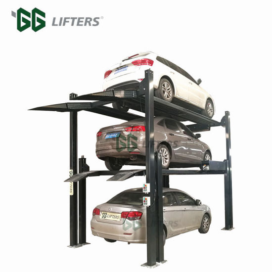 GGlifters Brand Double Four Post Car Stacker Parking Lift