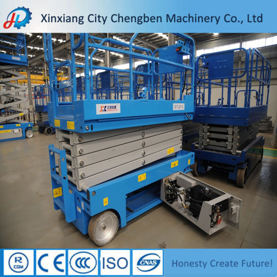 Made in China 8m Height Scissor Lift Platform on Discounts pictures & photos