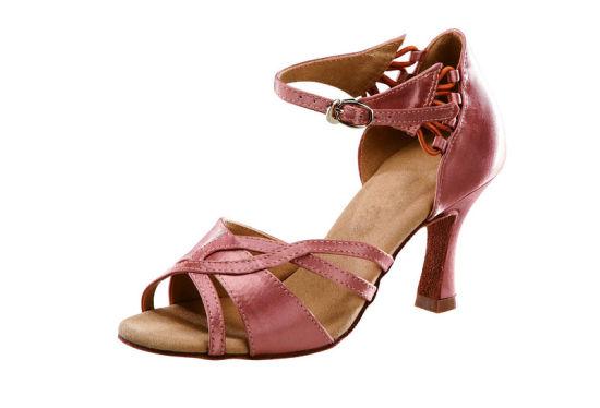 3 Colors New Brand Women Latin Ballroom Tango Jazz Dance Shoes High Heel Sandal Wholesale