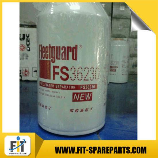 Fs36230 Fleetguard Fuel/Water Separator Filter Assembly for Crane/Cummins Engine
