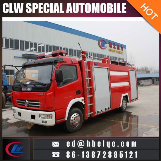 Best Quality Fire Fighting Water Bowser Truck Fire Engine Truck pictures & photos