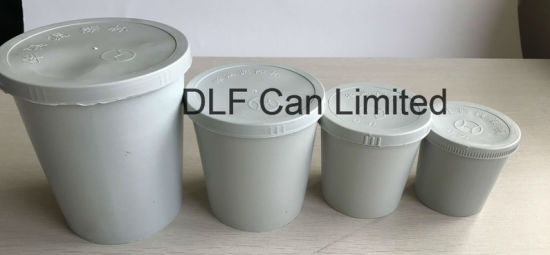 Plastic Paint Mixing Cups with Lid (0.3 liters) pictures & photos