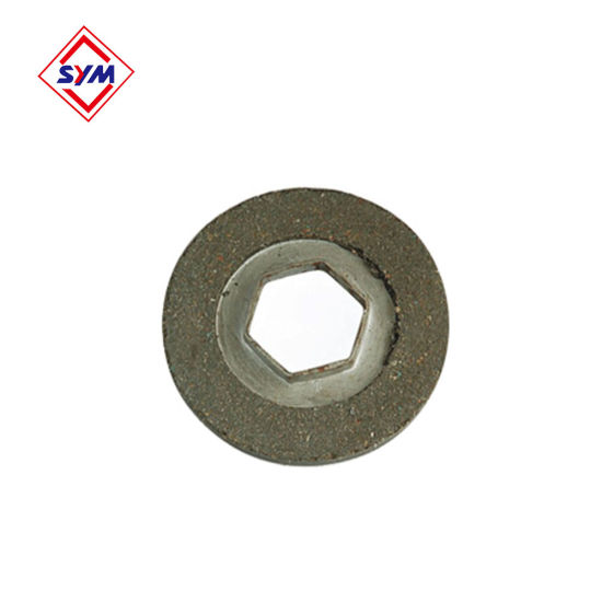 Hoist Mechanism Plate Brake Disc for Tower Crane Spare Parts