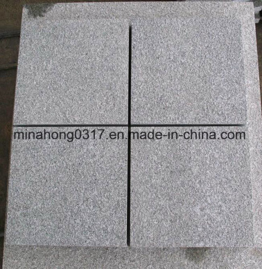Flamed/Polished/Honed/Bushhammered/Sandblasted/Chiselled/Tumbled/Natural Split/Dark Grey/ G654/China Impala Granite Tile/Slab/Kerbstone/Cubestone/Paving Stone pictures & photos