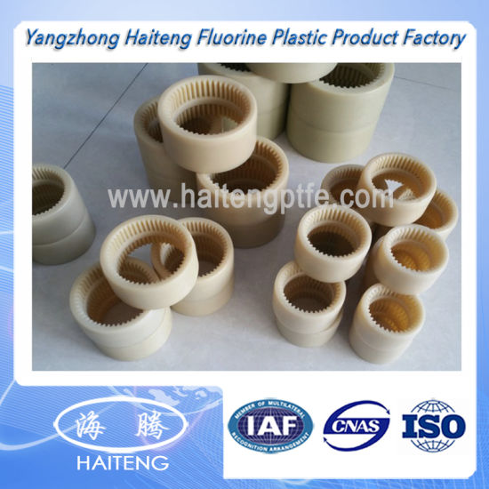 Plastic Casting Oil Nylon Gear in Virgin Material pictures & photos