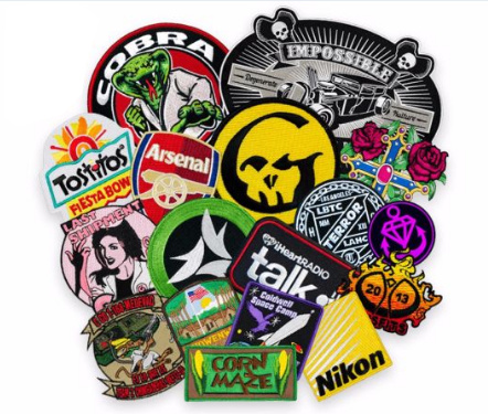 Woven Patches Wholesale Custom Embroidery Self-Adhesive Patch Woven Patches Woven Tags pictures & photos