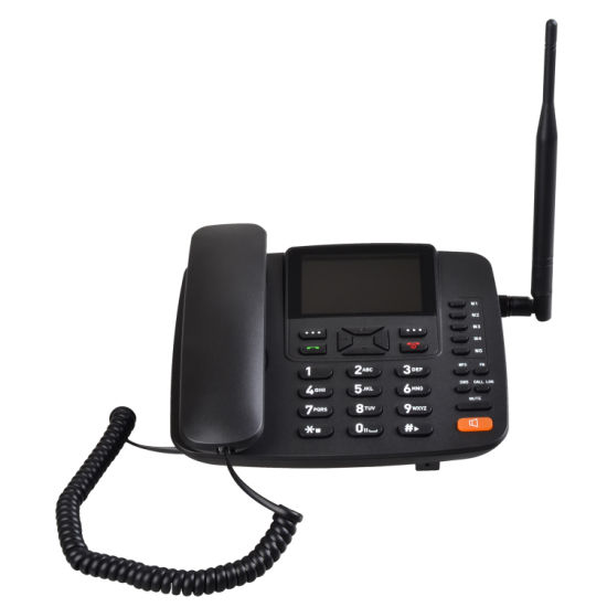 Desktop Phone 2g Wireless Phone Dual SIM GSM Fwp G659 Supports Caller ID