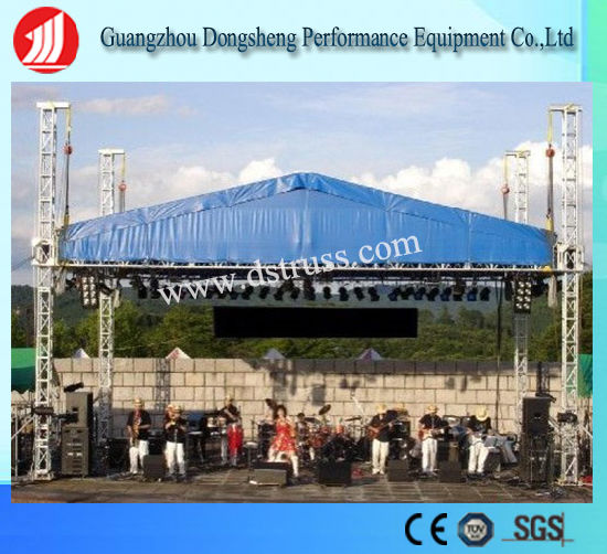 China outdoor dj lighting aluminum event stage roof truss system outdoor dj lighting aluminum event stage roof truss system aloadofball Image collections