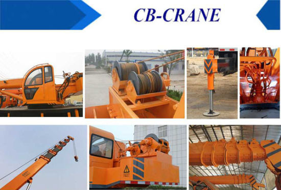 Mobile Crane Drilling Truck Mounted with Competitive Price pictures & photos