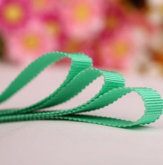 Custom Curling Gift Packing Printed Retail Velvet Hat Ribbon (HR7080)
