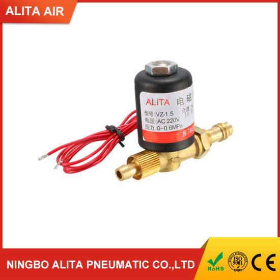 Ball Valve Electric Welding Machine Solenoid Valve 0~0.6MPa for Argon and Other Clean Gas Electric Magnetic Valve