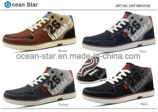 New High Cut Fashion Man Leisure Shoes Men Casual Shoes
