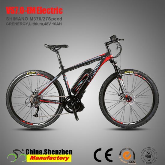 48V350W 36V250W Lithium Battery MID Motor Mountain Electric Bike pictures & photos