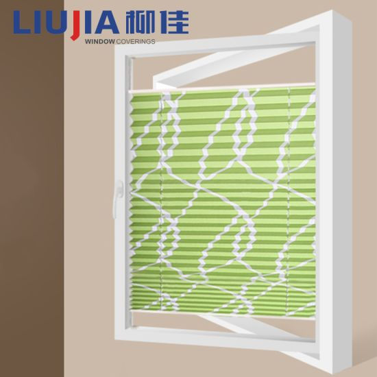 China Temporary Pleated Paper Window