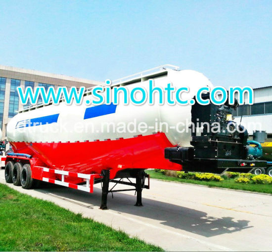 Bulk Cement Tanker Trailer For Cement pictures & photos