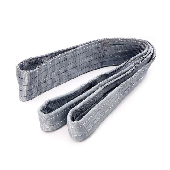 2t Polyester Webbing Sling/Lifting Sling/Flat Webbing Sling/Duplex Sling/Hoisting Sling/Weaved Sling