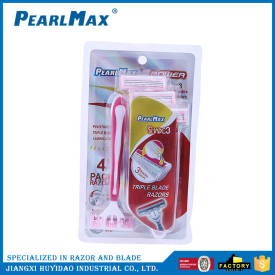Female Double Blades Safety Shaving Product