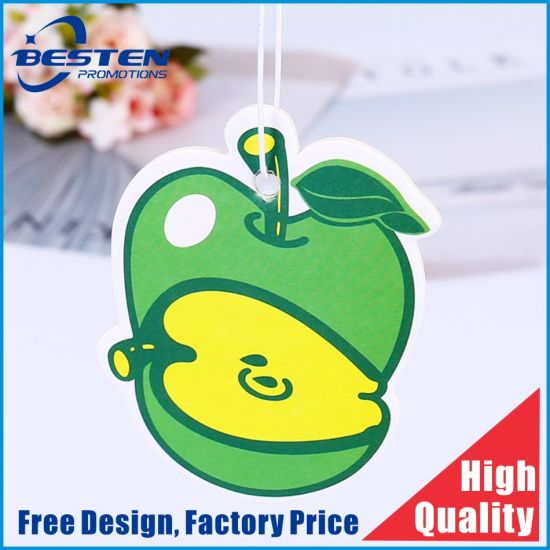 Paper Custom Shape Logo Scent Card Car Air Freshener pictures & photos