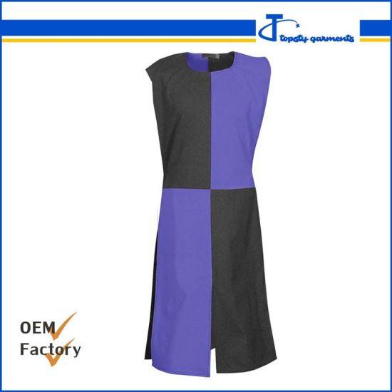 Custom Fashion Polyester/Cotton Uniform Tabard, Men's Long Tabard