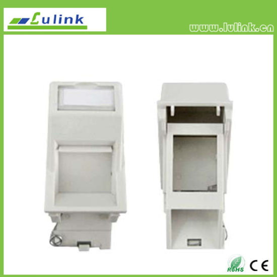 China Best Price Single Port Faceplate Information Outlet Plug In