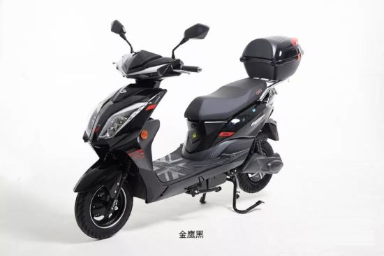 New Qualified Electric Scooters Motorbike Motorcycle 1200W 800W (HDYW800-2) pictures & photos