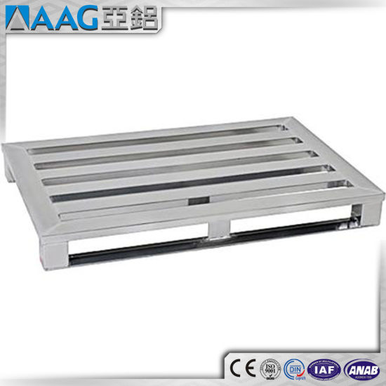 Custom Aluminium Pallet for Packaging and Transportation