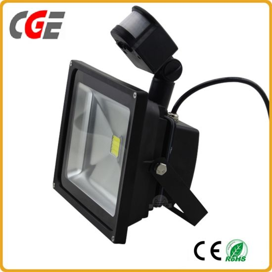 LED Flood Light Motion Sensor PIR Sensor Flood Outdoor Light/Flood Lighting 20W/30W/50W/80W/100W Garden Light