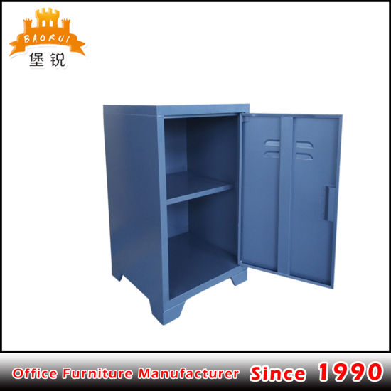 Single Door Steel Shcool Kids Furniture Cabinet Metal Locker