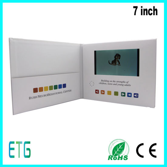 Best Business Card Promotion Gift Paper Video Invitation Card