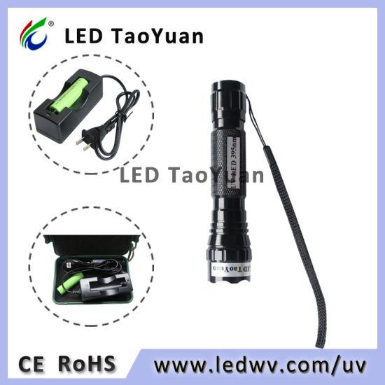 365-395nm Mini 3W LED UV Torch