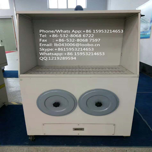 Industrial Grinding Dust Steel Workbench/Downdraft Grinding Downdraft Table with Self Cleaning System