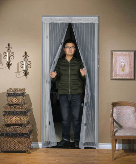 Magnetic Anti-Mosquito Screen Door Curtain