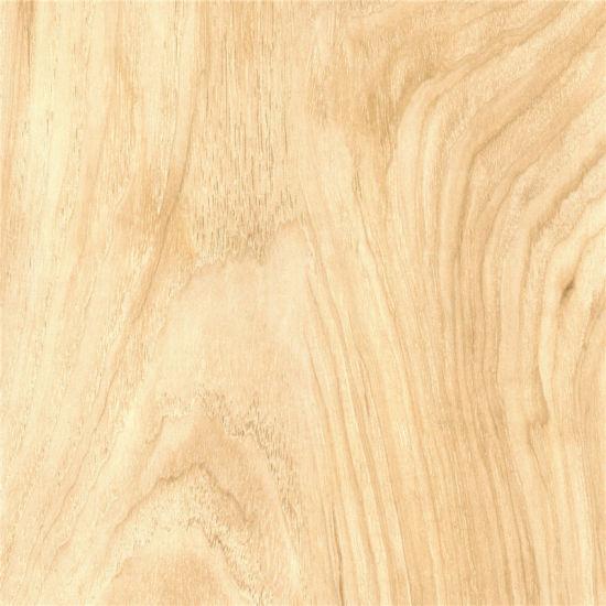 China White Walnut Color Wood Grain Flooring Paper China