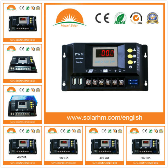 12V 24V Auto 20A Solar Charge Controller for PV Battery pictures & photos