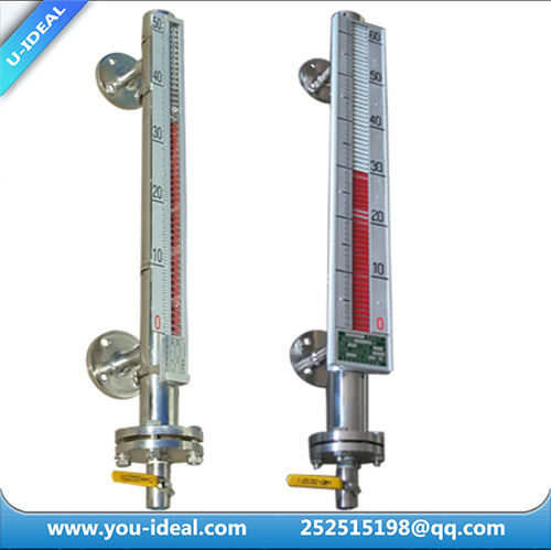Liquid Level Measuring Instruments : China transparent flat glass level gauge steam sight