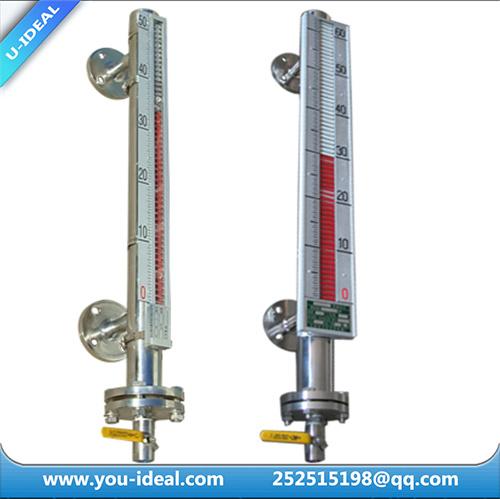 China transparent flat glass level gauge steam sight
