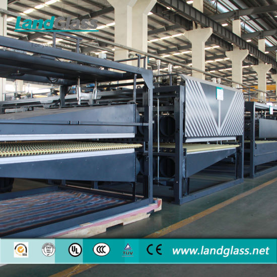 Landglass Jet Convection CE Certificate Glass Tempering Machine/Glass Tempering Unit pictures & photos