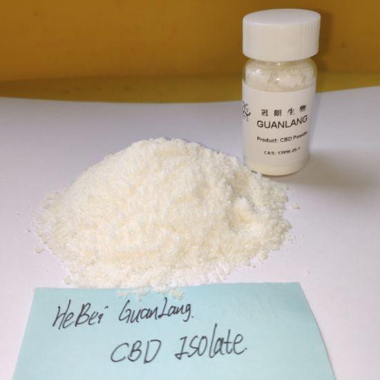 China 99% Pure Hemp Extract Cannabidiol Cbd Isolate Crystal