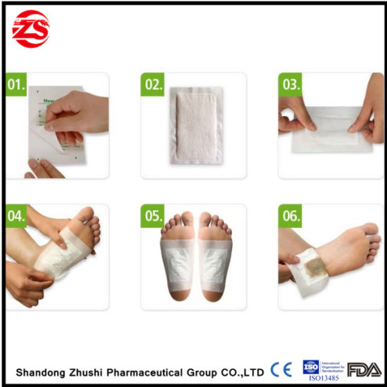 China Promote Sleeping Relive Fatigue Cleansing Detox Patch