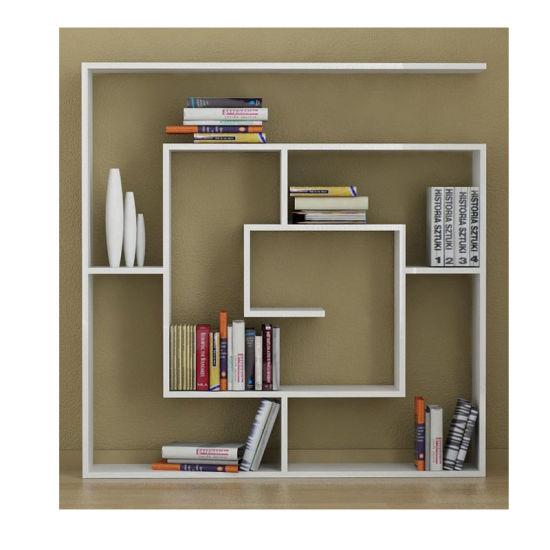 China Wooden Decorative Wall Mounted Bookshelf Designs China