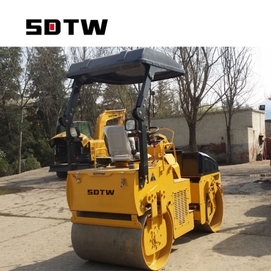 Diesel Engine 0 7 Ton 2 Ton 3 Ton Compactor Road Roller Construction  Machinery