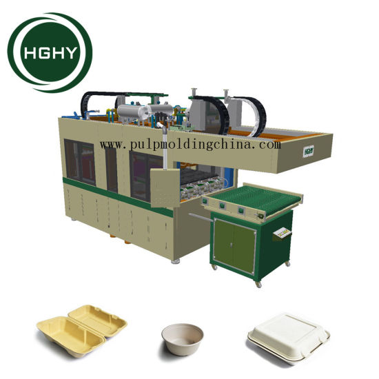 Hghy Sugarcane Bagasse Pulp Disposable Plates Making Machine Prices in China  sc 1 st  HGHY PULP MOLDING PACK CO. LTD. & Hghy Sugarcane Bagasse Pulp Disposable Plates Making Machine Prices ...