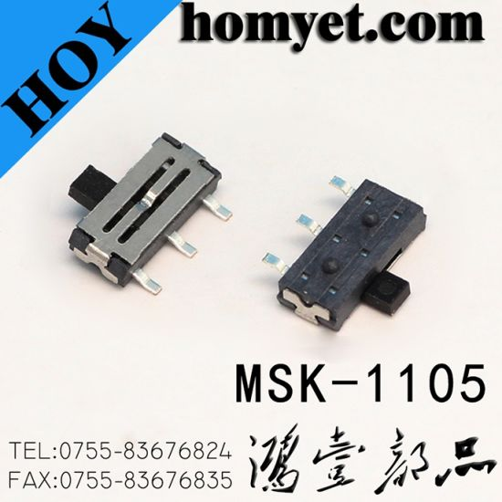 China Manufacturer Slide Switch /Push Button Switch (MSK-1103) pictures & photos