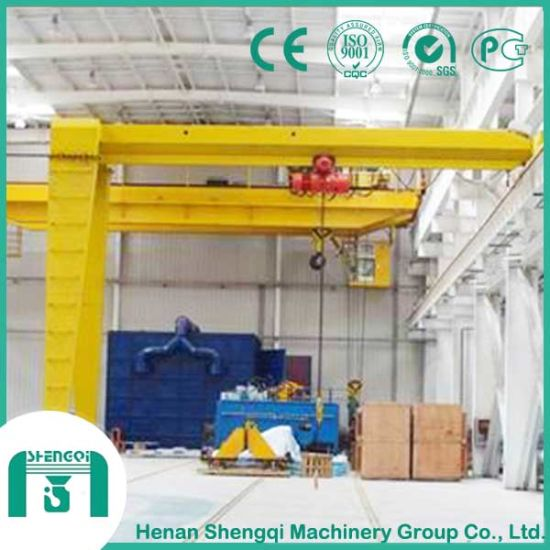 Single Girder and Double Girder Type Semi Gantry Crane pictures & photos