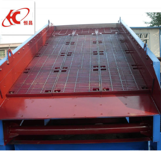 China Mobile Double Deck Circular Vibrating Screen pictures & photos