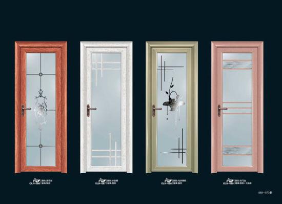 China Exterior Interior Glass Security Door Folding Metal Sliding