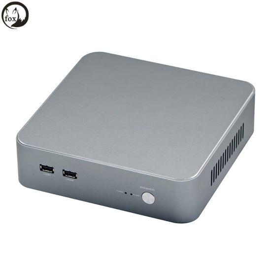 Wholesale Intel I3 I5 I7 6th Gen Processor Fanless Mini PC Desktop Industrial Computer
